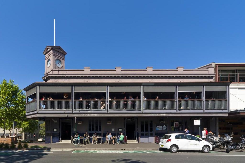 The Clock Hotel 470 Crown Street Surry Hills Sydney Guy