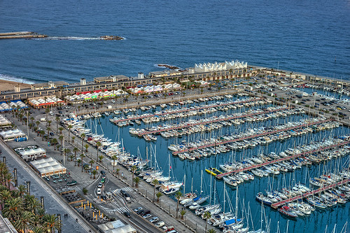 Olympic Harbour – Puerto Olímpico de Barcelona (Spain), HDR | by marcp_dmoz