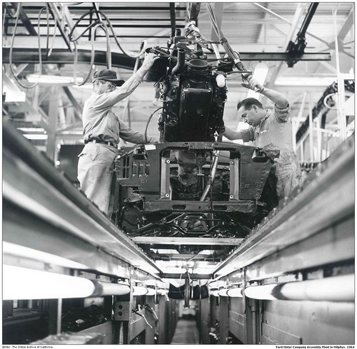 Ford Motor Company Assembly Plant In Milpitas San Jose 1