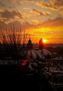 a beautiful sunset in Rome #2 | by serendipity517