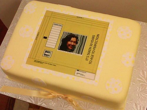 Graphic designer birthday cake