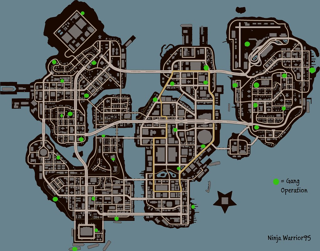 Saints Row 3 Map Saints Row 3 Gang Operations | Map Showing Where All The Gan… | Flickr Saints Row 3 Map