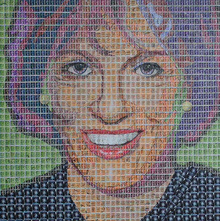Dame Esther Rantzen | by The Post Pop Art Man