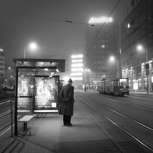Waiting For The Last Tramway | by Gilderic Photography