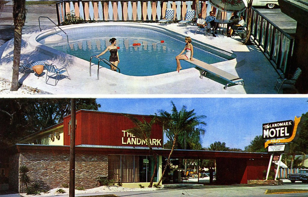 Landmark Motel - St. Petersburg, Florida