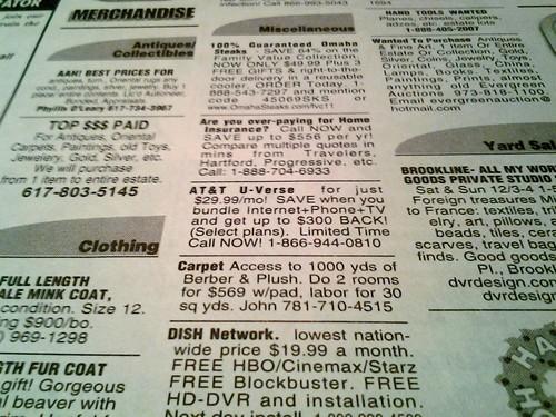 Newspaper printing terms