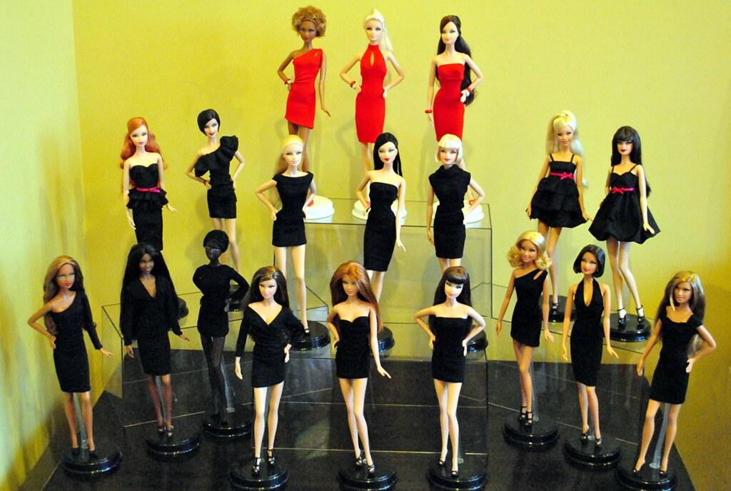 My Barbie Basics Little Black Dress Collection Complete