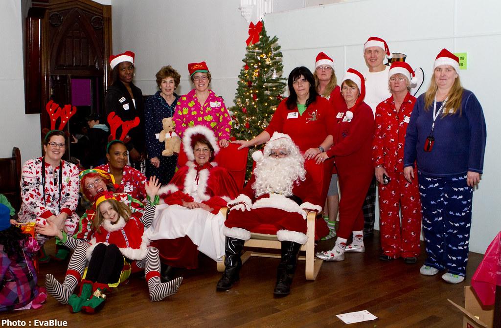 share the warmth christmas pajama party 02 by eva blue - Christmas Pajama Party