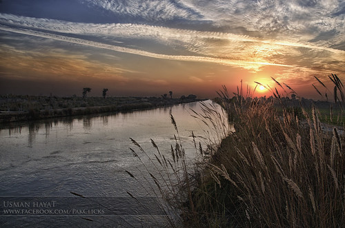 BRB Canal Sunset | by Usman Hayat