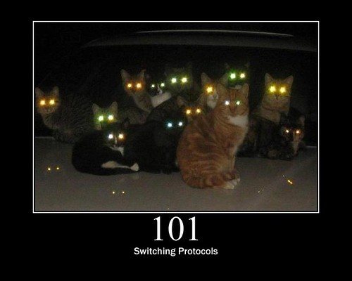 101 - Switching Protocols | by GirlieMac