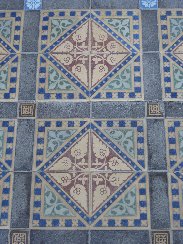 Victorian Tessellated Tiles Rupertswood Mansion Sunbury Flickr