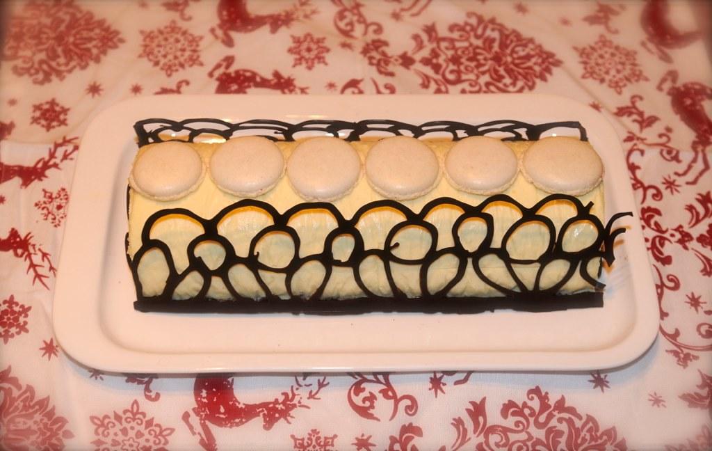 Buche Chocolat Blanc Poires Nuage De Farine Flickr