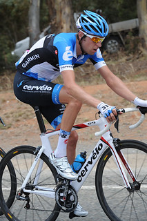 Ryder Hesjedal - Tour Down Under, stage 1 | by Team Garmin-Sharp