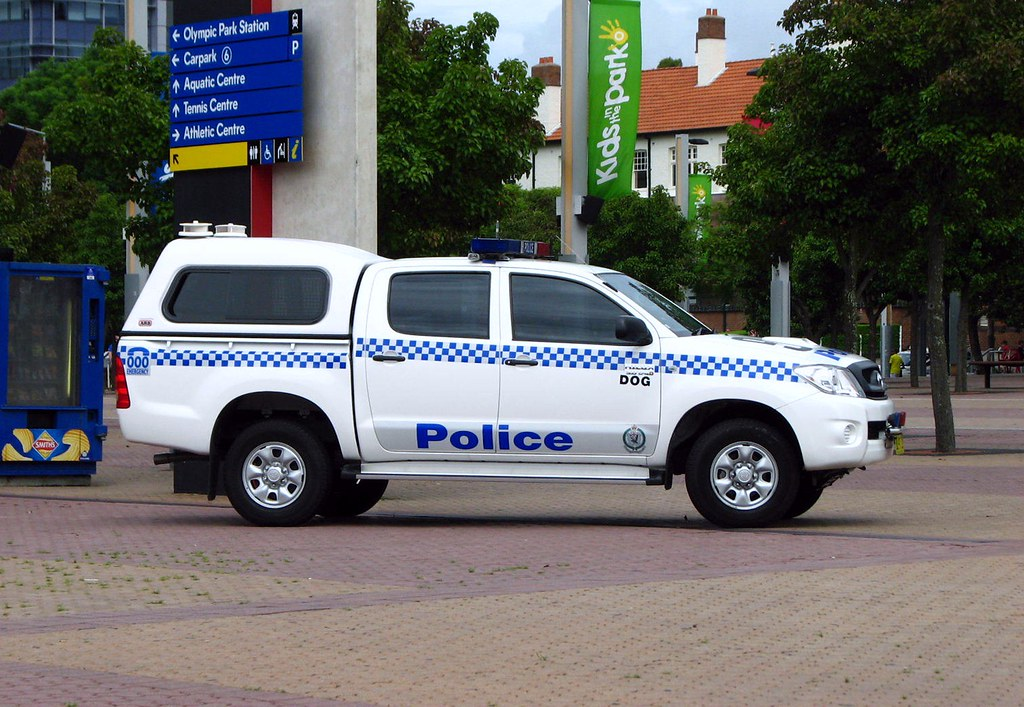 Nsw Police Force Toyota Hilux Dog Squad Highway Patrol Images Flickr