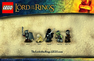 LOTR posters from LEGO | by hmillington