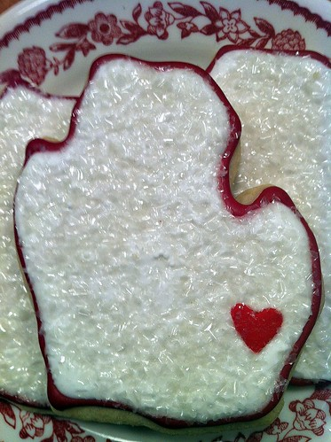 Holiday Mitten Cookies | by Pinwheel Bakery