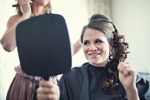 wedding-updo-volume-side-ponytail | by vanmobilehair