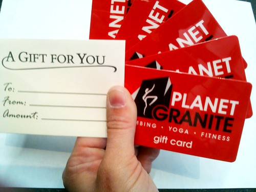 PG Gift Cards | by Planet Granite