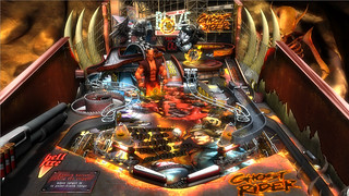 Marvel Pinball: Vengeance and Virtue: Ghost Rider table | by PlayStation.Blog