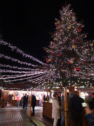 Lubeck Christmas Market - center of the market plaza | by cybele-