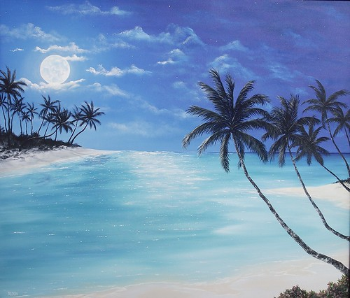 Tropical moon | by aldenart58