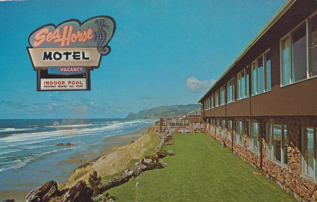 Sea Horse Motel - Lincoln City, Oregon