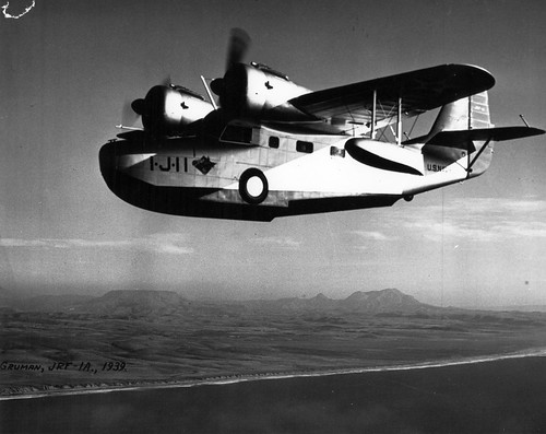 Grumman JRF-1A, VJ-1, NAS San Diego, 1939 | by San Diego Air & Space Museum Archives