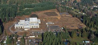 Ariel view of school, Dec. 2011 | by Oregon Solutions