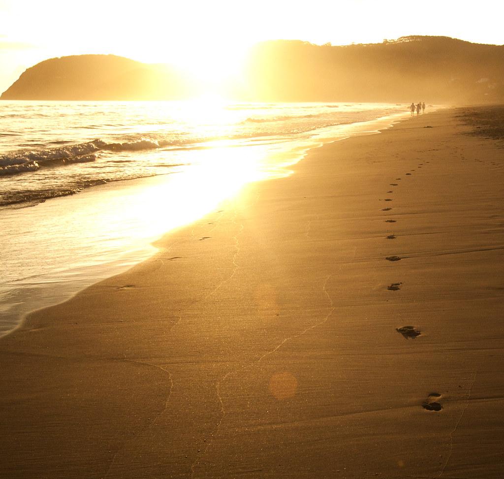 Image result for footprints in sand