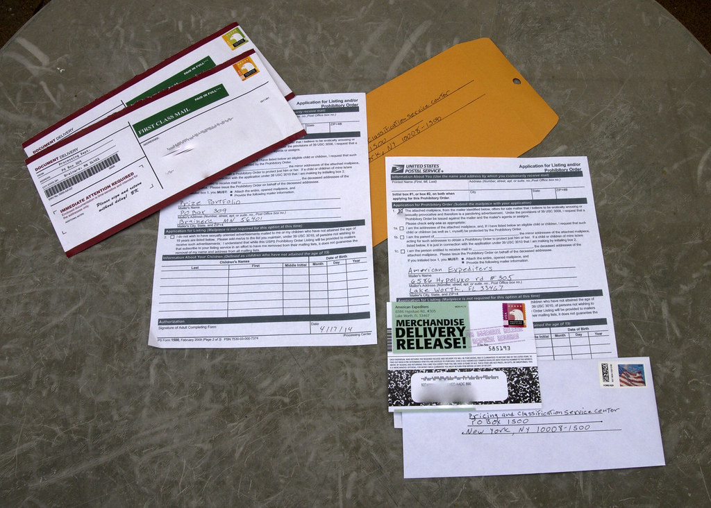 2 getting a USPS form 1500 | The big one is from Brainerd MN… | Flickr