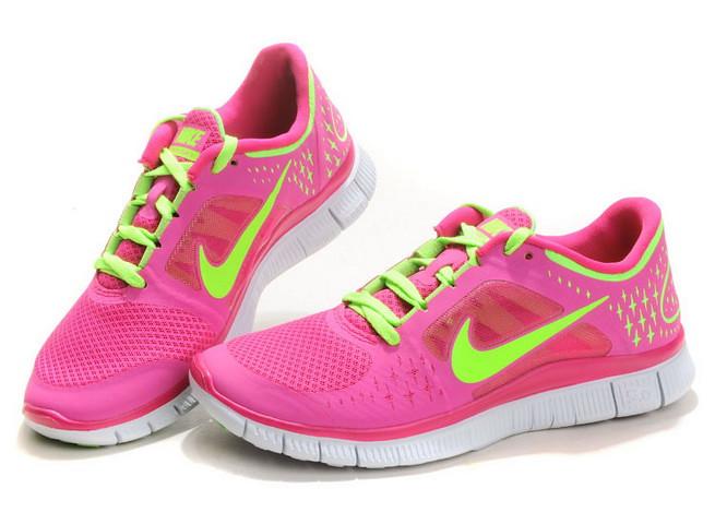 quality design 2ea04 7e4bc ... Kaufen-Damen-Nike-Free-Run-3-Neon-Rosa-