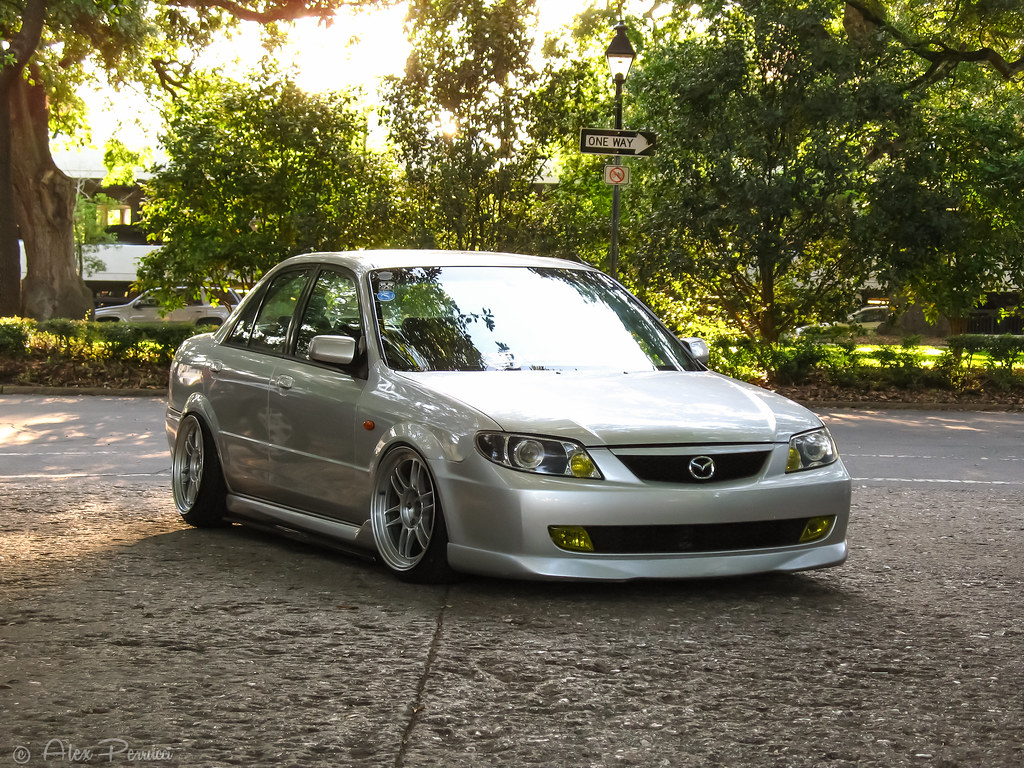 Ff B on Mazda Protege Lx I Have 2001 That