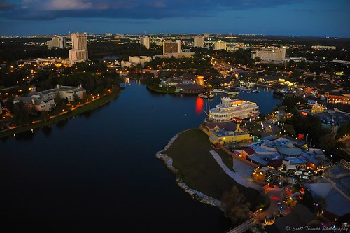 Downtown Disney from Above | by Scottwdw