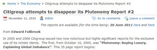 citigroup attempts to disappear plutonomy report | by patrickpoliticalgates
