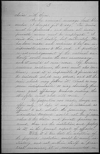 Message of President Abraham Lincoln recommending a resolution to encourage the gradual emancipation of slaves, 03/07/1862 (page 3 of 4) | by The U.S. National Archives