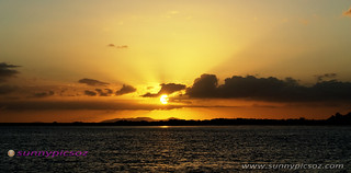 Golden Rays - Sunrise over Frazer Island. Qld | by sunnypicsoz.com-Geoff Childs.