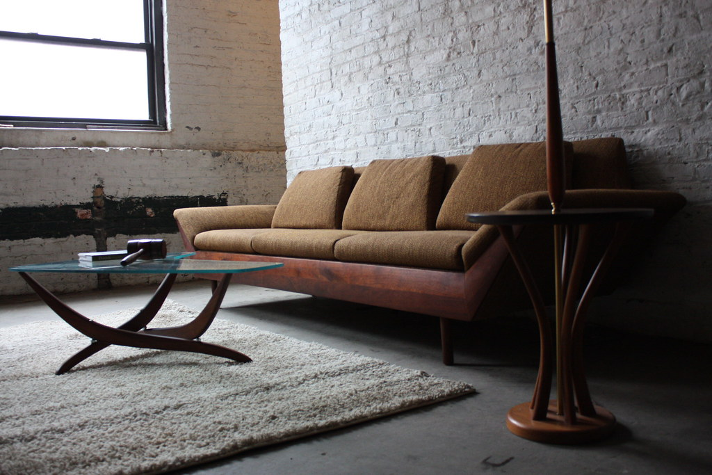 ... Breathtaking Flexsteel Thunderbird MCM Sofa (1965) | By  Kennyk@k2modern.com