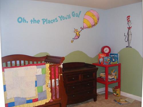Dr Seuss Dr Suess Theme Wallpaper Wall Paper Art Sticker
