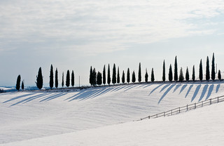 """Shadows on Snow"" - San Piero 5 Febbraio 2012 