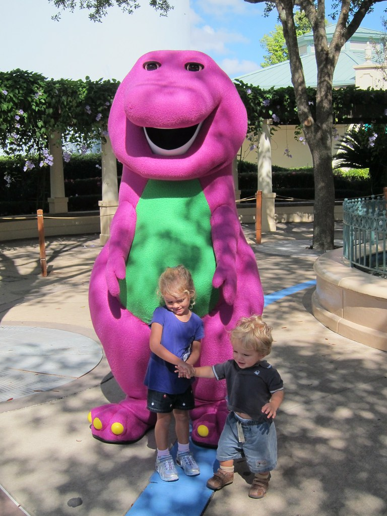 Barney Friends Joe Shlabotnik Flickr