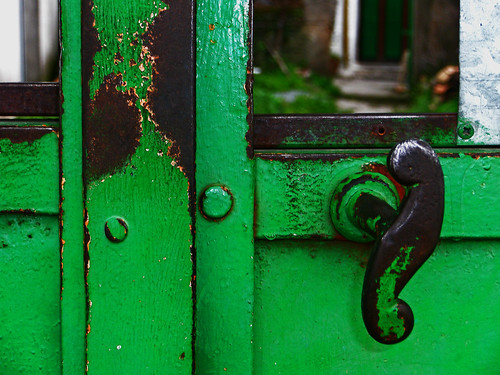 Two green doors - revisited | by Walimai.photo
