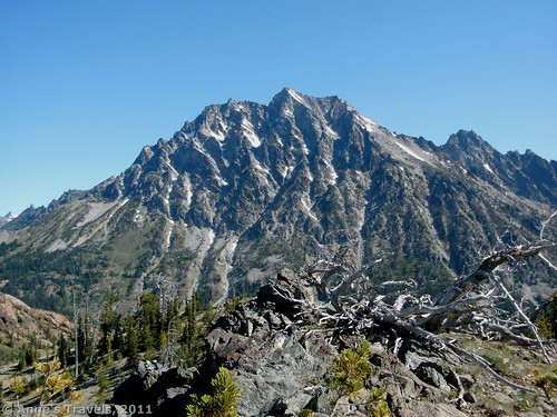 Mt. Stewart from Long's Pass, Teanaway, Washington