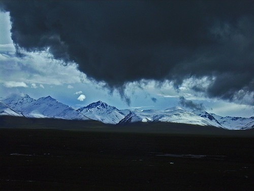 Sky high above Tibet (in the new High Altitude-Train) | by violarosa1