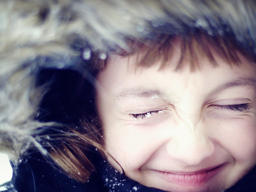 the return of the snowflakes on eyelashes | by Kirstin Mckee