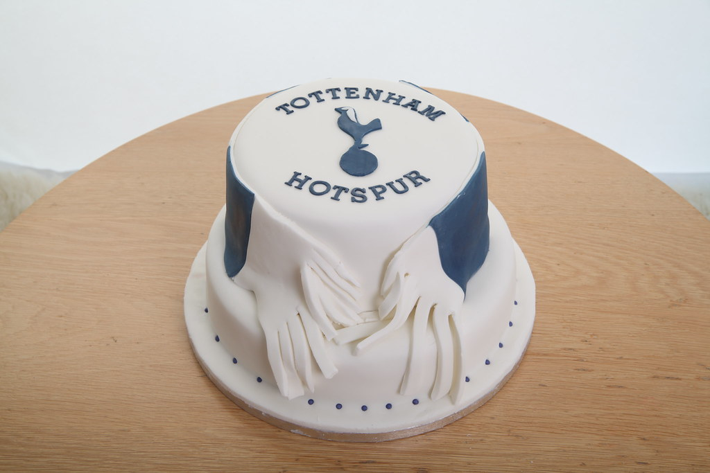 Spurs Birthday Cake Delicake Flickr