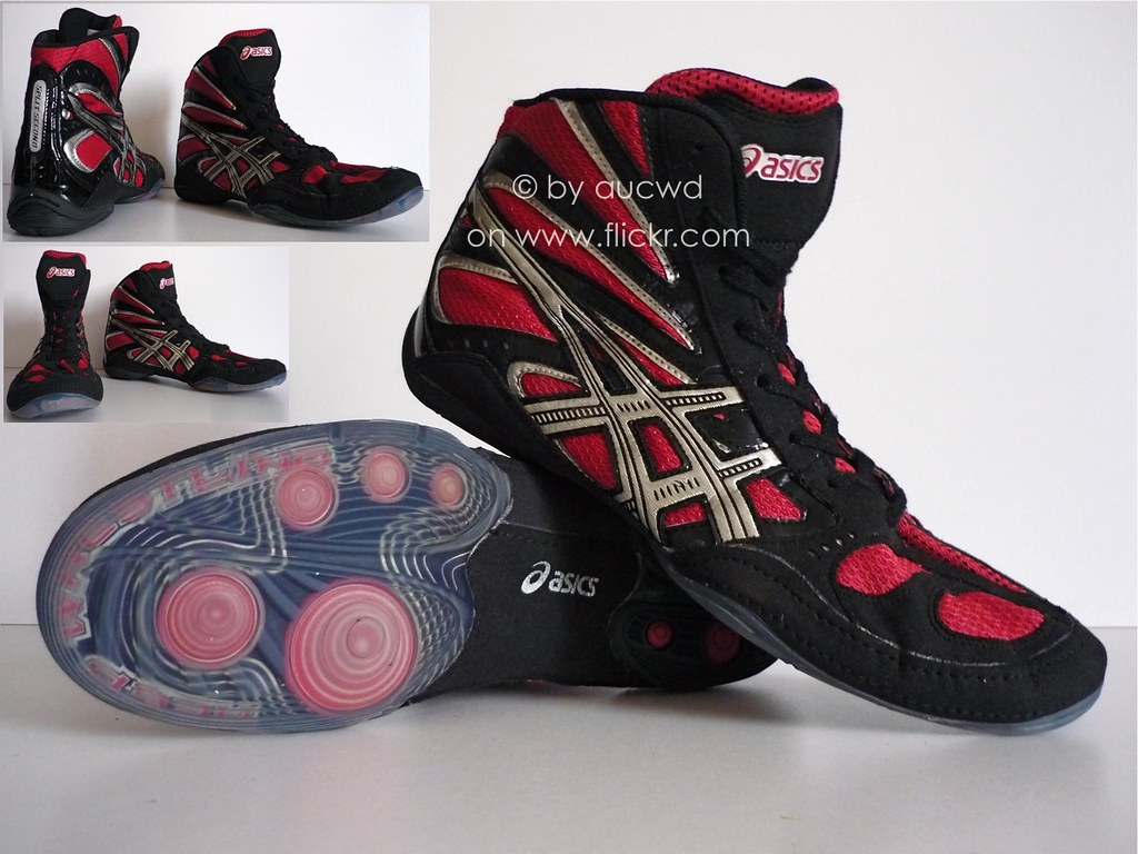 asics split second 8 wrestling shoes