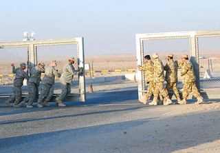 Closing the gate | by The U.S. Army