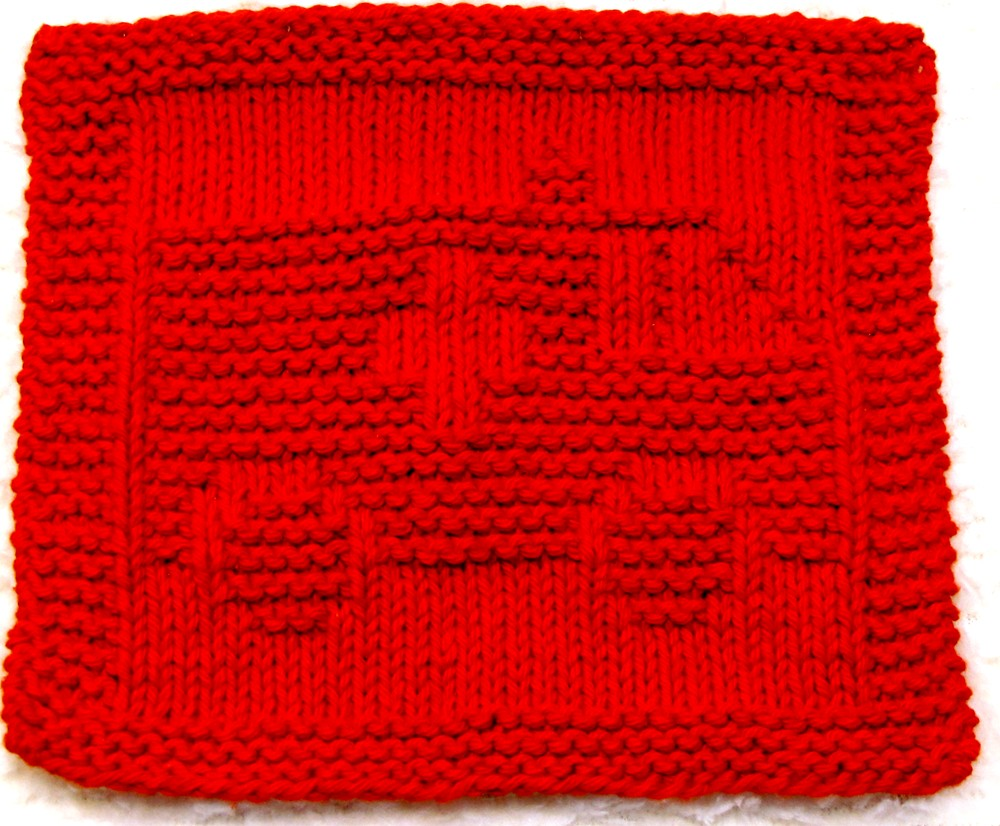 knitting Pattern - AMBULANCE - pdf | This pattern includes e… | Flickr
