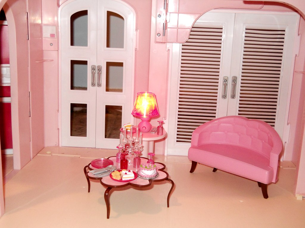 ... Barbie Dream House Living Room   By U2022 Katie Doll ~