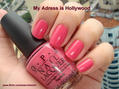 My Adress is Hollywood - OPI | by Marcinharlm